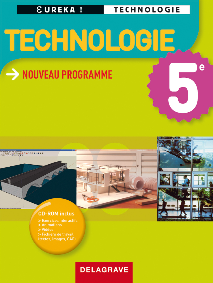 Eur ka technologie 5e manuel l ve ditions delagrave for Technologie cuisine bac pro