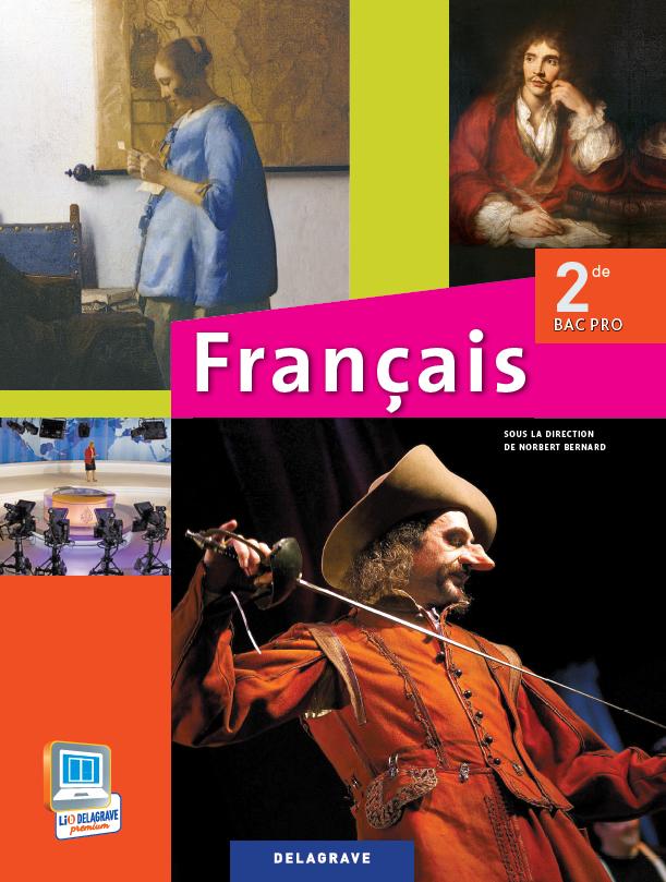 Fran ais 2de bac pro 2013 manuel l ve ditions for Programme bac pro cuisine