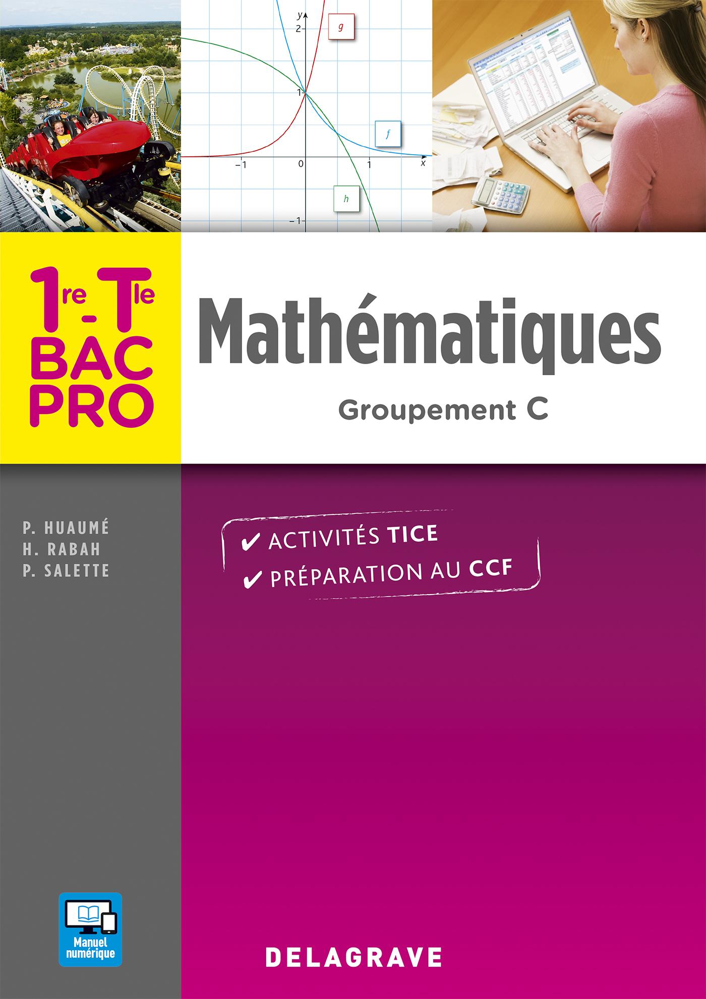 Math matiques 1re tle bac pro groupement c 2016 for Programme bac pro cuisine