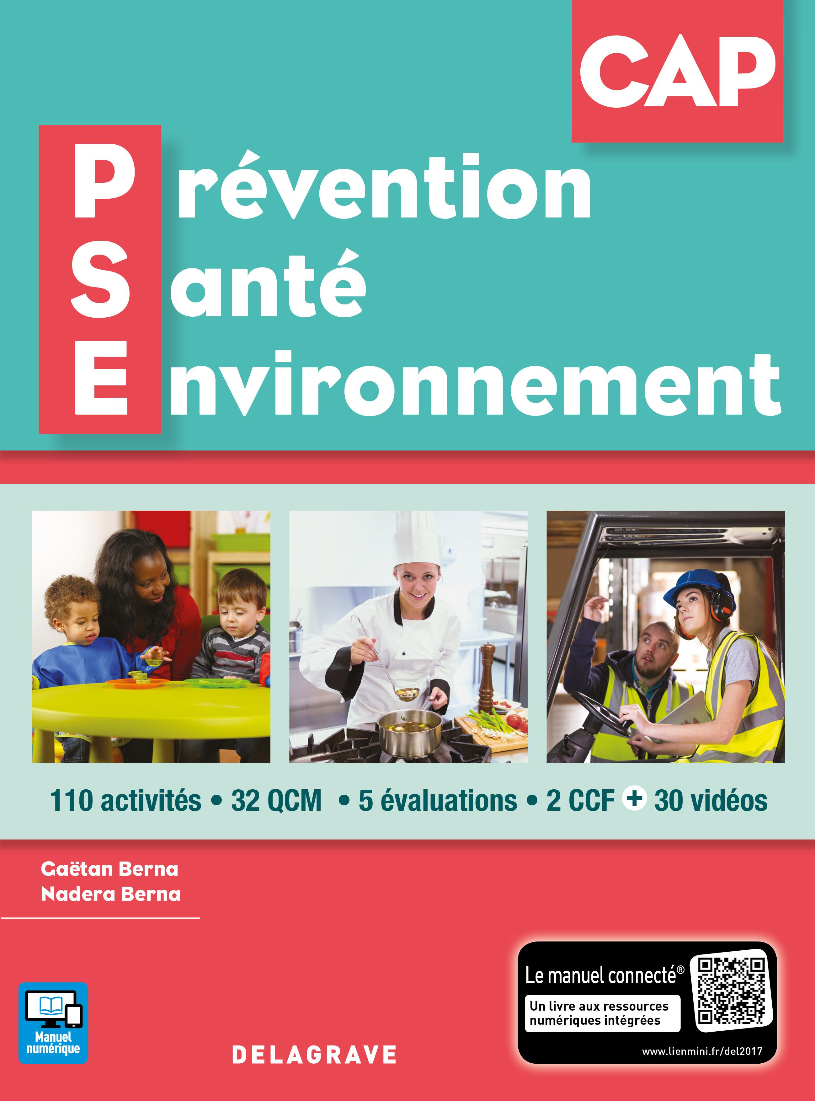 Prevention Sante Environnement Pse Cap 2017 Pochette Eleve
