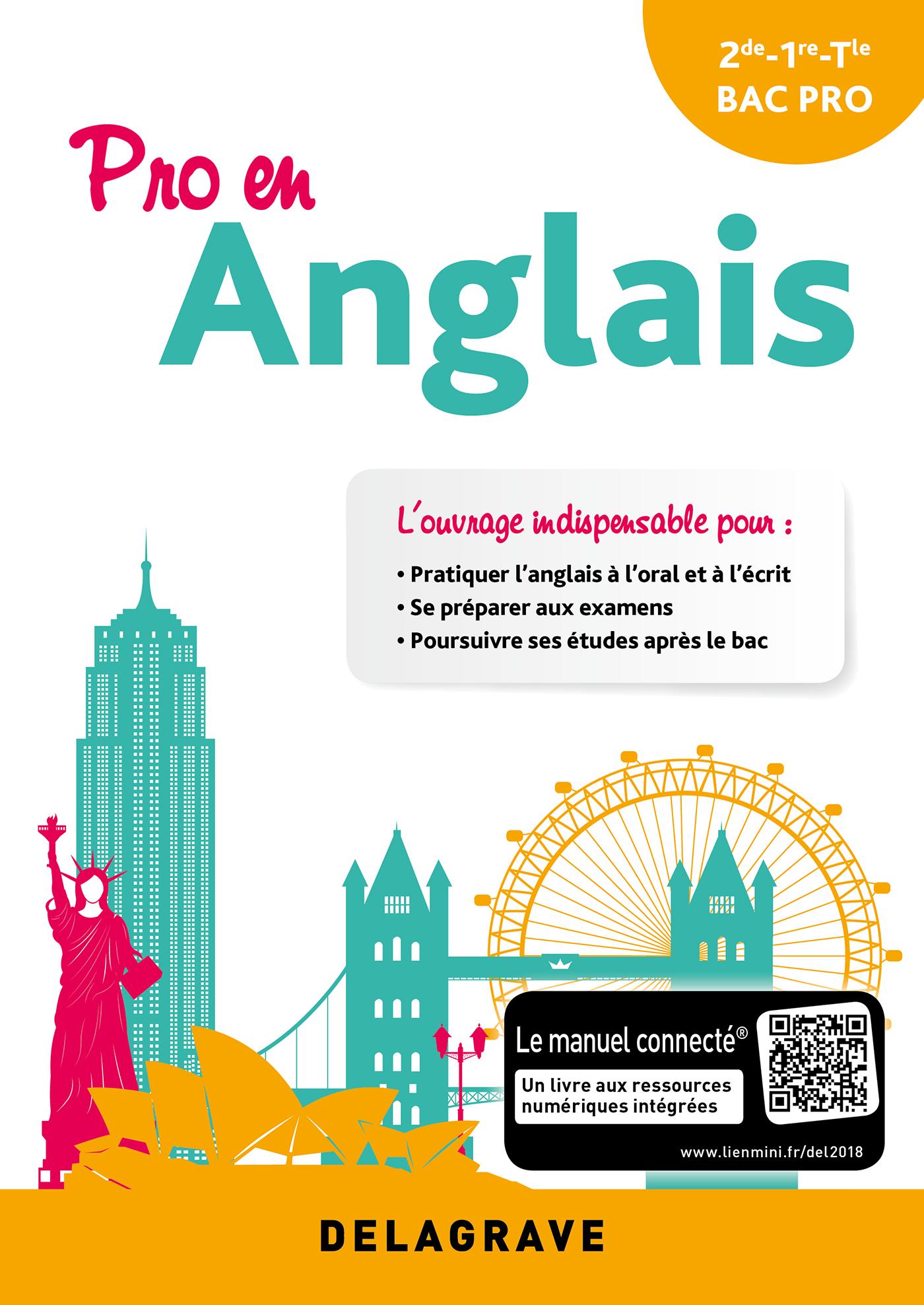 Pro En Anglais 2018 Pochette Eleve Editions Delagrave