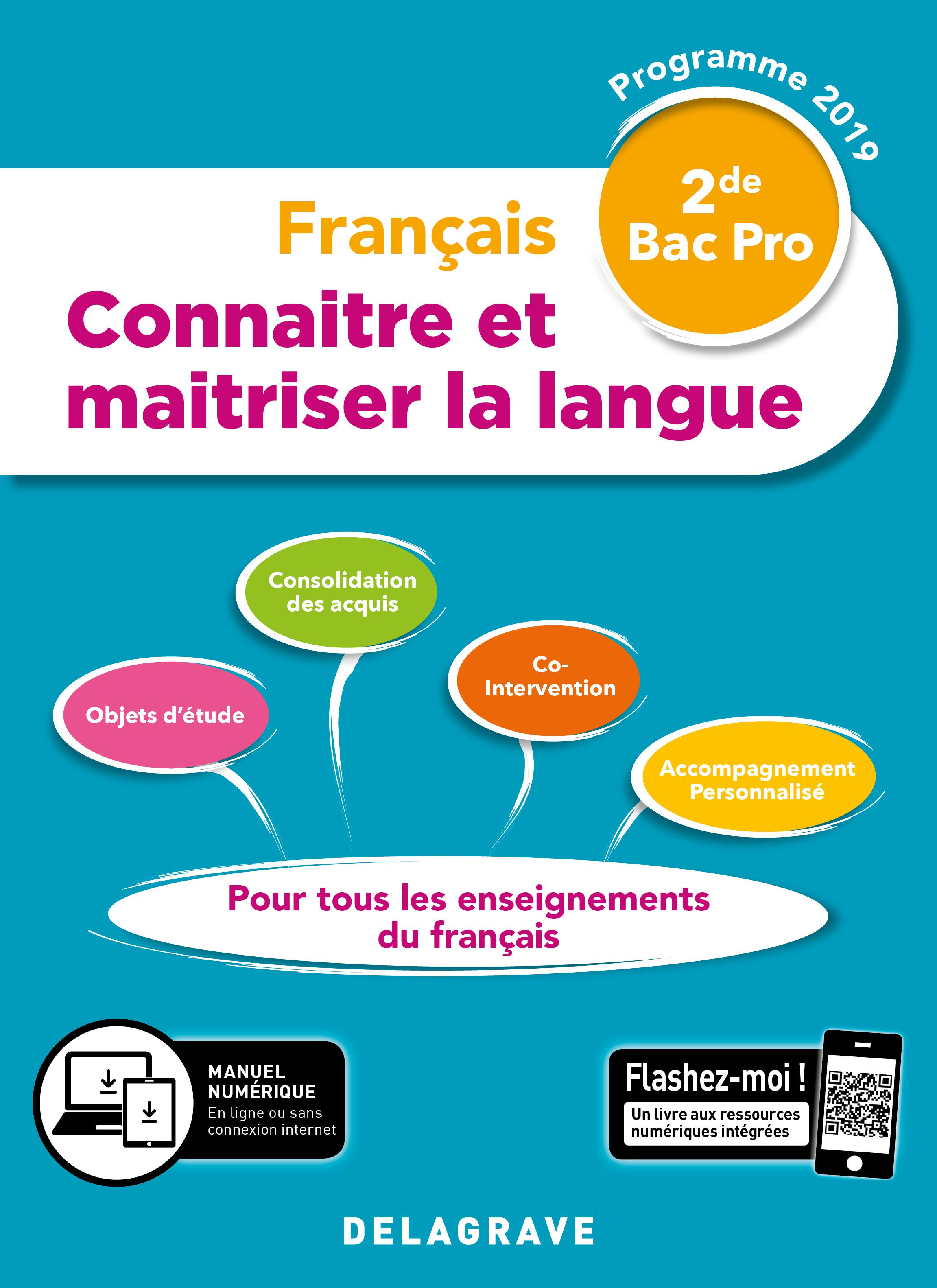 Connaitre Et Maitriser La Langue 2de Bac Pro 2019