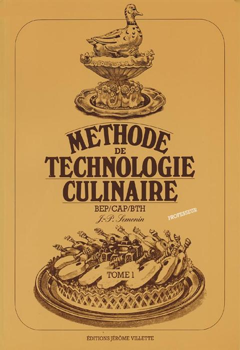 Methode De Technologie Culinaire Cap Bep Industrie Restauration