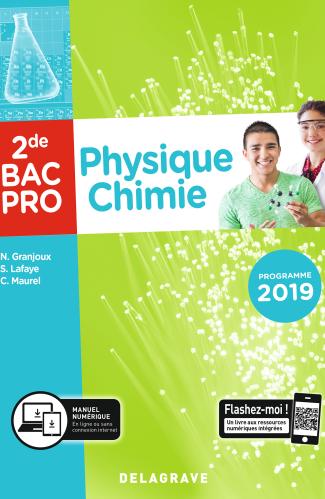 Physique chimie 2de Bac Pro (2019) - Pochette élève