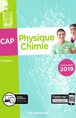 Physique chimie CAP (2019) - Pochette élève