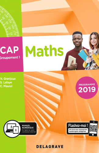 Maths CAP Groupement 1 (2019) - Pochette élève