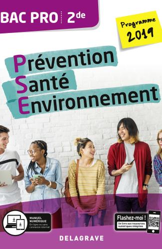 Prévention Santé Environnement (PSE) 2de Bac Pro (2019) - Pochette élève