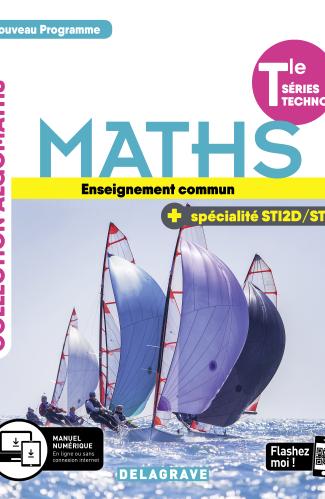 Mathématiques enseignement commun et spécialité Tle STI2D/STL (2020) - Manuel élève