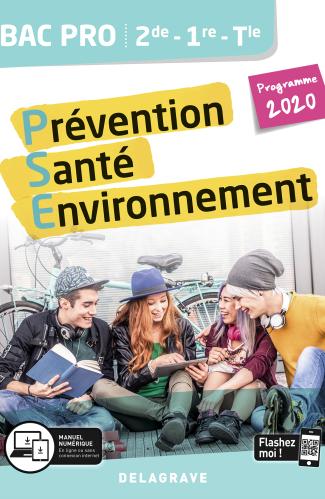 Prévention Santé Environnement (PSE) 2de, 1re, Tle Bac Pro (2020) - Pochette élève