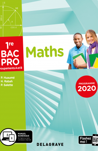 Mathématiques - Groupement A et B - 1re Bac Pro (2020) - Pochette élève