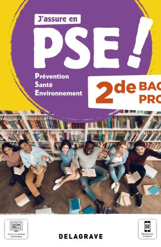 Prévention Santé Environnement (PSE) 2de Bac Pro (2021) - Pochette élève
