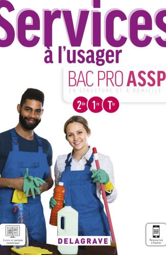 Services à l'usager 2de, 1re, Tle Bac Pro ASSP (2021) - Pochette élève