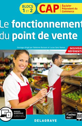 Le fonctionnement du point de vente 1re et 2e années CAP commerciaux (2020) - Pochette élève