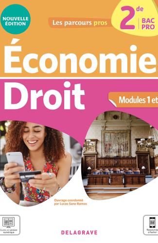 Économie-Droit 2de Bac Pro (2021) - Pochette élève