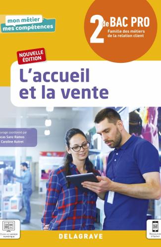 L'accueil et la vente 2de Bac Pro Métiers de la relation client (2021) - Pochette élève