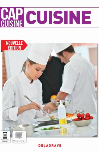 Cuisine 1re et 2e années CAP Cuisine (2021) - Pochette élève