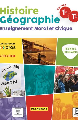 Histoire Géographie EMC 1re, Tle Bac Pro (2021) - Pochette élève
