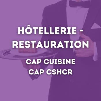 CAP Cuisine et CSHCR