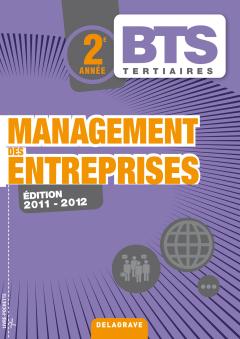 Management des entreprises 2e année BTS Tertiaires - Pochette élève