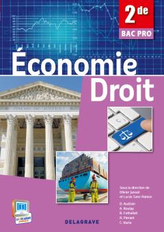 Économie - Droit 2de Bac Pro (2013) - Pochette élève