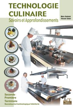 Technologie culinaire Bac Techno - MAN - BTS Hôtellerie Restauration (2003) - Manuel élève