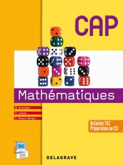 Mathématiques CAP, groupements A, B et C (2014) - Manuel élève