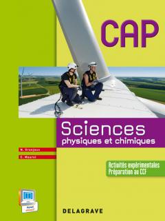 Sciences physiques et chimiques CAP industriels et tertiaires - Manuel élève