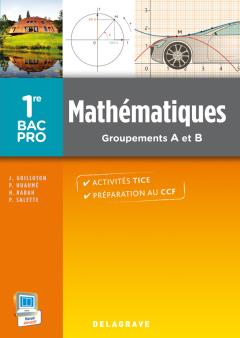 Mathématiques 1re Bac Pro Groupements A et B (2014) - Pochette élève