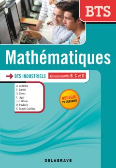 Mathématiques BTS industriels (2014) - Manuel élève