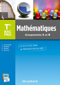 Mathématiques Terminale Bac Pro Groupements A et B (2015) - Pochette élève