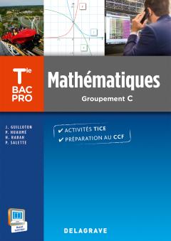Mathématiques Terminale Bac Pro Groupement C (2015) - Pochette élève