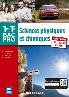 Sciences physiques et chimiques 1re,Tle Bac Pro (2016) - Pochette élève