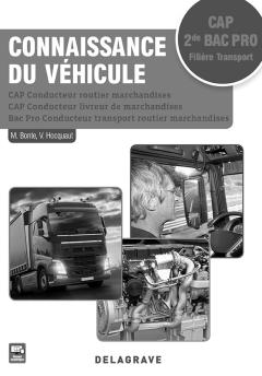 Connaissance du véhicule CAP et 2de Bac Pro (2017) - Pochette - Livre du professeur
