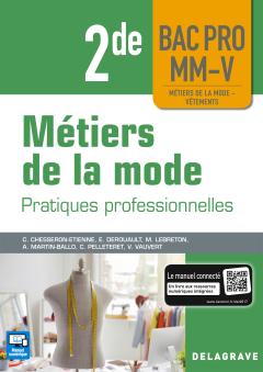 Métiers de la mode 2de Bac Pro MM-V (2018) - Pochette élève