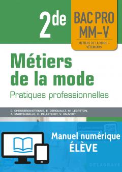 Métiers de la mode 2de Bac Pro MM-V (2018) - Manuel numérique élève