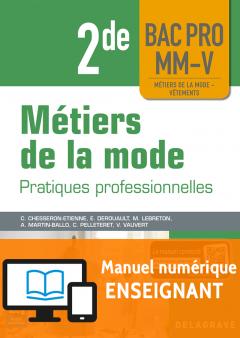 Métiers de la mode 2de Bac Pro MM-V (2018) - Manuel numérique enseignant