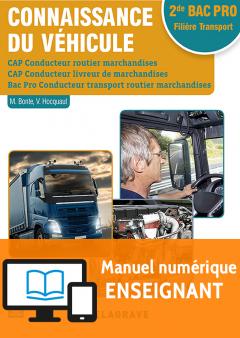 Connaissance du véhicule CAP et 2de Bac Pro (2017) - Pochette - Manuel numérique enseignant