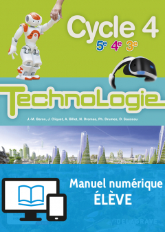 Bimanuel Technologie cycle 4 (2017) - Manuel numérique élève