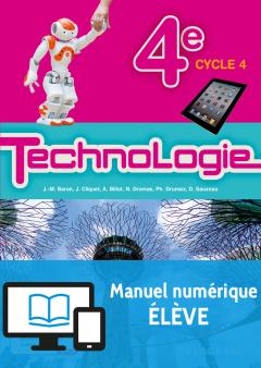 Bimanuel Technologie 4e (2017) - Manuel - Manuel numérique élève