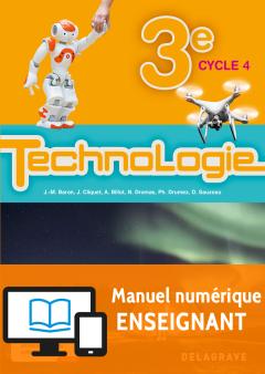 Bimanuel Technologie 3e (2017) - Manuel numérique enseignant