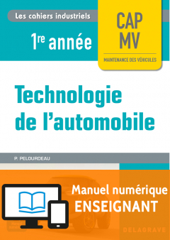 Technologie de l'automobile CAP 1re année (2017) - Manuel numérique enseignant