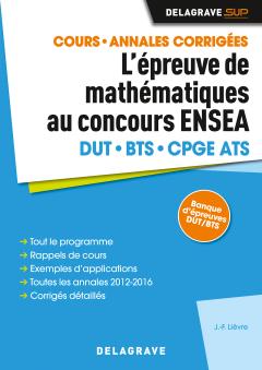 L'épreuve de mathématiques au concours ENSEA (2017) - Manuel élève