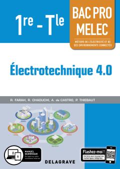 Électrotechnique 4.0 1re, Tle Bac Pro MELEC (2019) - Pochette élève