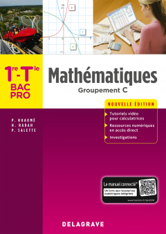 Mathématiques 1re, Tle, Groupement C Bac Pro (2018) - Pochette élève