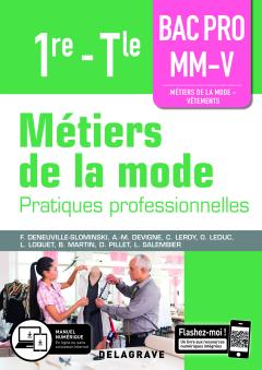 Métiers de la mode 1re, Tle Bac Pro MM-V (2019) - Pochette élève