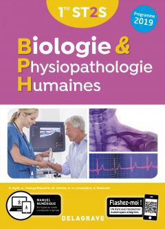 Biologie et physiopathologie humaines 1re ST2S (2019) - Manuel élève