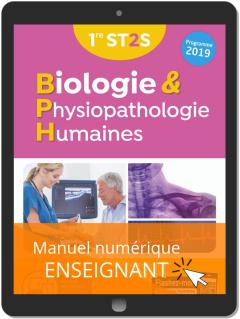 Biologie et physiopathologie humaines 1re ST2S (2019) - Manuel - Manuel numérique enseignant
