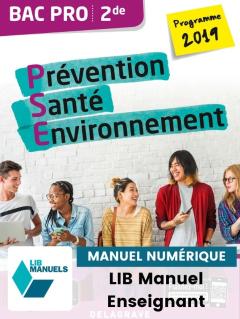 Prévention Santé Environnement (PSE) 2de Bac Pro (Ed. num. 2021) - Pochette - Manuel numérique enseignant