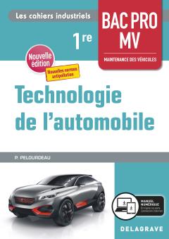 Technologie de l'automobile 1re Bac Pro MV (2020) - Pochette élève