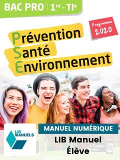 Prévention Santé Environnement (PSE) 1re, Tle Bac Pro (Ed. num. 2021) - Pochette - Manuel numérique élève